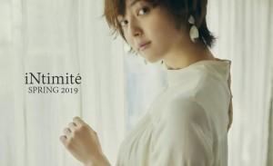 佐佐木希「 iNtimité 2019 SPRING」