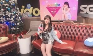 高桥圣子在台湾录节目