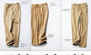 华丽的驼色裤子